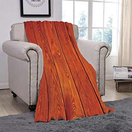 Admirable Scocici Super Soft Throw Blanket Burnt Orange Wood Texture With Natural Patterns Oak Timber Tree Floor Decorative Design Home Decorative Burnt Machost Co Dining Chair Design Ideas Machostcouk
