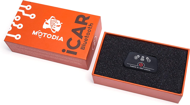 MotoDia iCar Bluetooth Check Engine Reader Fault Code /& Diagnostic Scan Tool