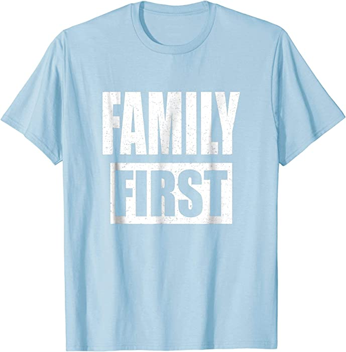 Amazon.com Mens Family Shirt Matching Reunion Gift Family First 2XL Baby Blue Clothing  sc 1 st  Amazon.com & Amazon.com: Mens Family Shirt Matching Reunion Gift Family First 2XL ...