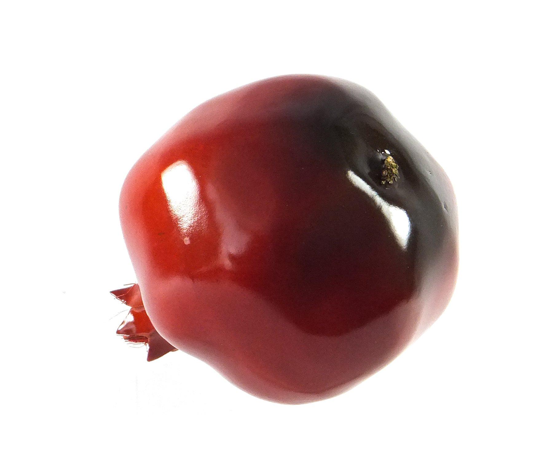 6pc-Artificial-Large-Pomegranates-Pomegranate-Plastic-Red-Fruit-Six-Pieces
