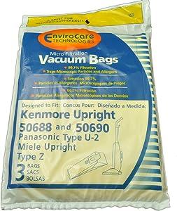 Kenmore Type U Upright Vacuum Cleaner Bags
