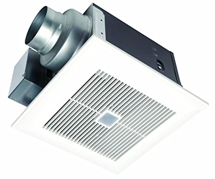 Panasonic FVVQC WhisperSense CFM Ceiling Mounted Ventilation - Panasonic bathroom fan motion sensor