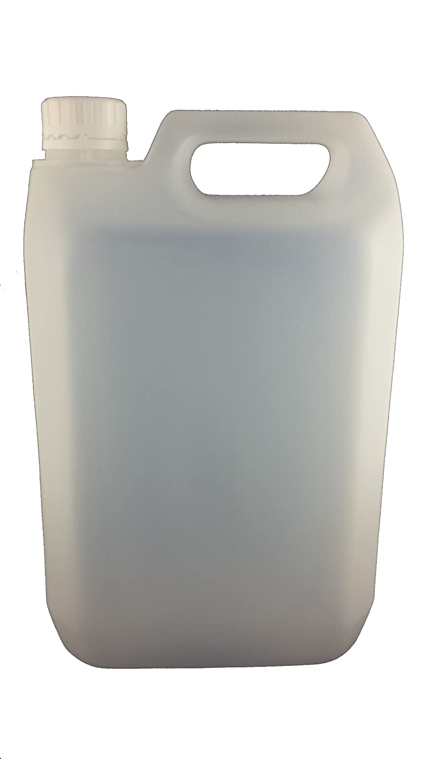 12 x 5 L LITRE 1 GALLON HDPE PLASTIC JERRY CAN BOTTLE CONTAINERS WITH CAPS