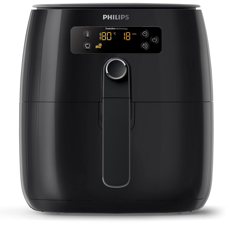 Philips Avance Collection HD9645/90 - Freidora (Low fat fryer, 0,8 kg, Rapid Air, 0,5 h, 60 °C, 200 °C): Amazon.es: Hogar