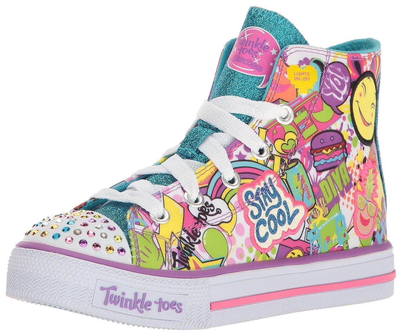 Skechers Kids Kids' Shuffles-Trendy Talk Sneaker SHUFFLES -TRENDY TALK - K