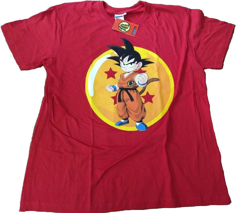 comic studio Camiseta Friki Dragonball Goku (m): Amazon.es: Juguetes y juegos