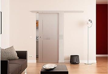Dorma Puerta Corredera de Cristal » Dorma Idea « 77.5 cm, conchas: Amazon.es: Bricolaje y herramientas