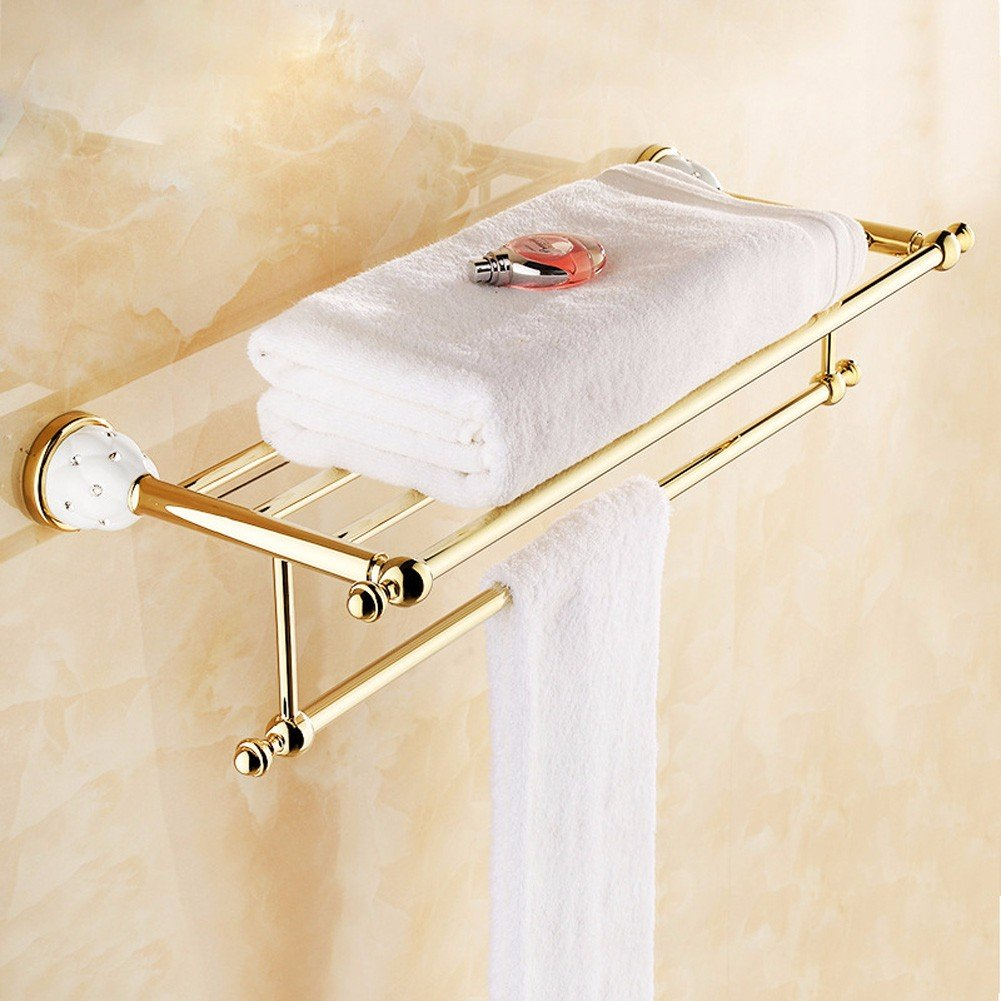 durable modeling KHSKX Diamond racks of gold-plated bathroom ...