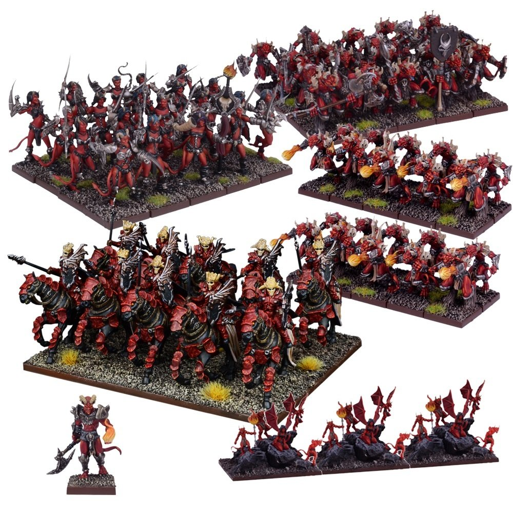 Mantic Games MGKWA108 Abyss Army Miniature Game, MultiColour