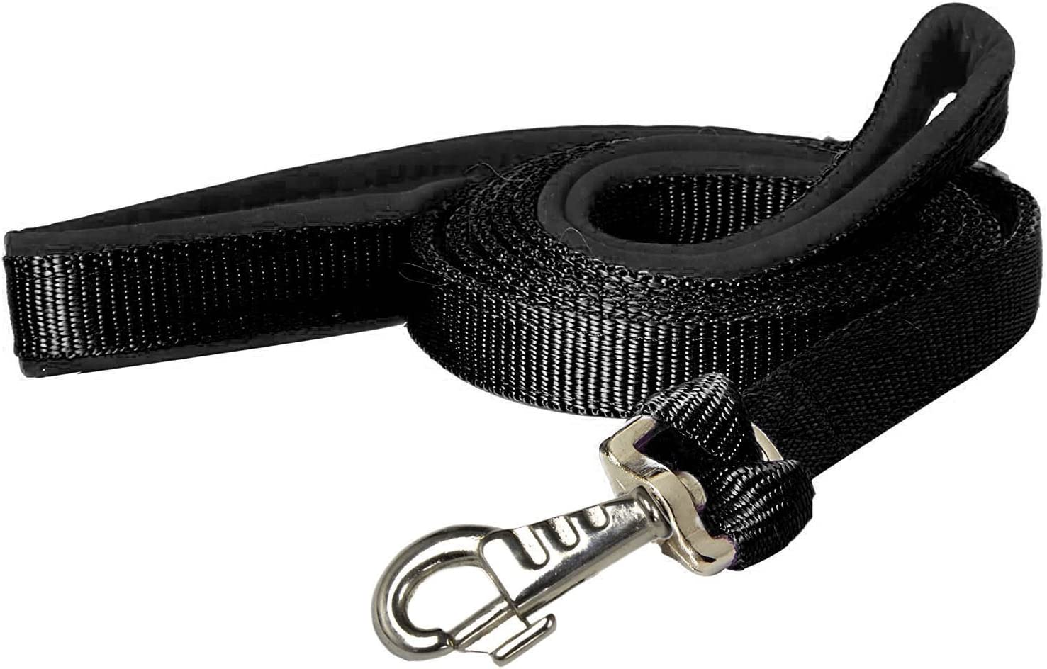CuteNFuzzy Padded Double Handle Leash with Warranted Replaceable Snap