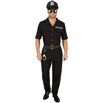 87663dab51b TecTake dressforfun Costume pour Homme Policier