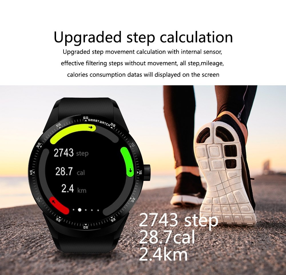Amazon.com: PINCHU K98H 3G Smart Watch Phone GPS Navigation ...