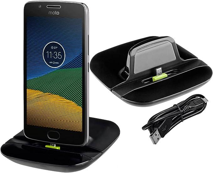 Yayago – Base de carga para Lenovo Motorola Moto G5: Amazon.es ...