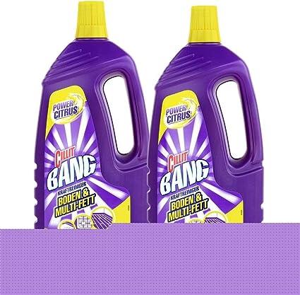 Limpiador Cillit Bang para suelos, 1,5 litros, aroma a limón, 2 ...