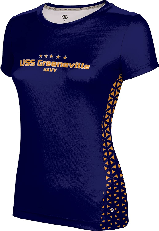 ProSphere Women's USS Greeneville Military Geometric Tech Tee