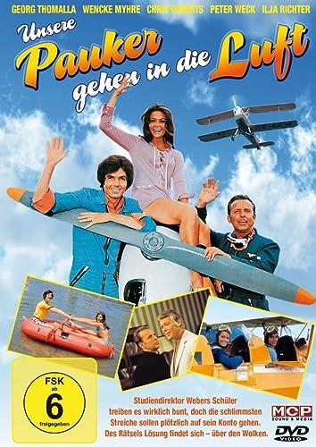 Unsere pauker gehen in die luft german movie poster.