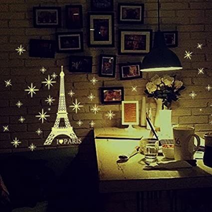 Luminous Decals Wall Stickers Kids Bedroom,Elevin(TM) Wall Decals Stickers Removable Waterproof