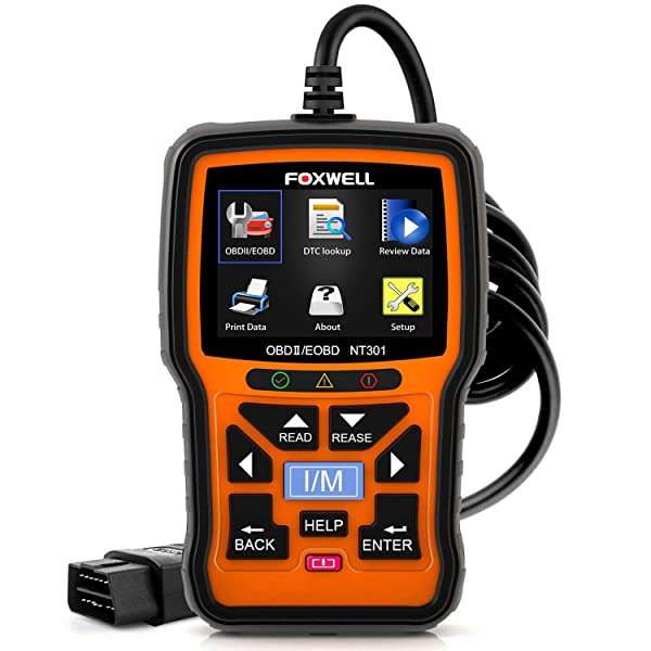 Foxwell NT301 OBD2 Live Data Scanner