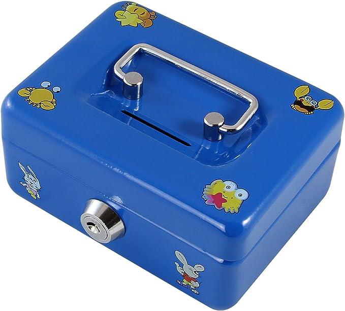 HMF 10212-05 Caja de caudales para niños con imágenes 12,5 x 9,5 x ...