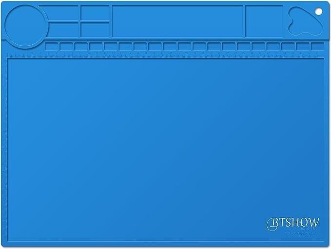 4 opinioni per BTSHOW BTSHOW Loetmatte Loetplatte Matte da Saldatore Solder Mat per Stazione