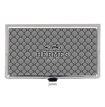 Hermes paris logo fashion stainless steel business name card holder hermes paris logo fashion stainless steel business name card holder case colourmoves
