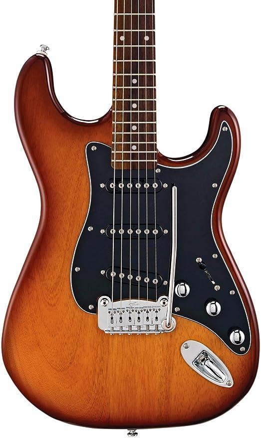 G & L Tribute S500, diapasón de palisandro para guitarra eléctrica, color sunburst