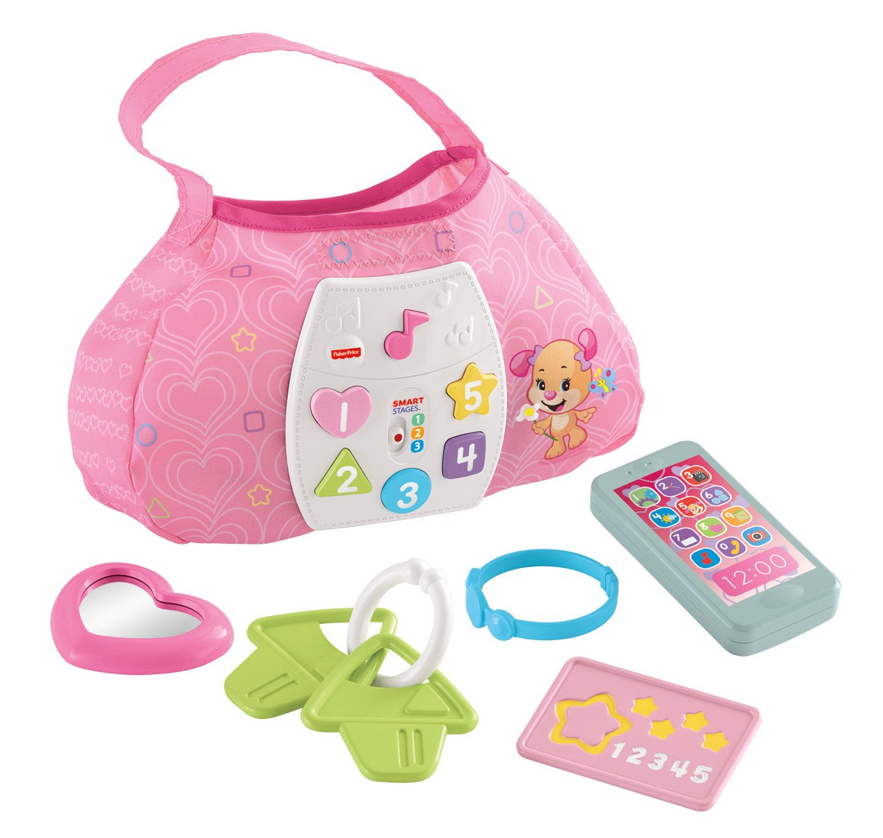 Fisher-Price Laugh & Learn Sis' Smart Stages Purse by Fisher-Price (Image #15)