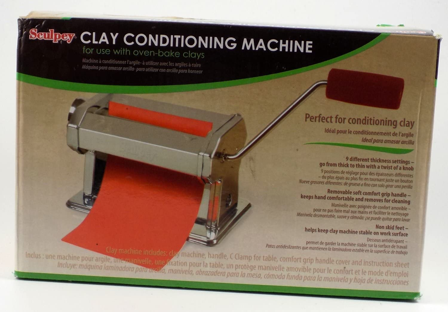 Fimo Clay Machine For Oven Hardening Clay