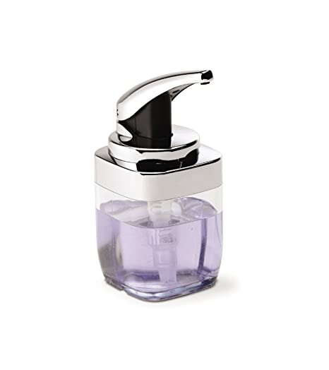 simplehuman BT1076 - Dispensador de jabón, transparente