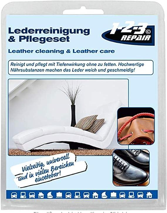 1 2 3 Repair Lederpflegeset Bienenwachs Lederpflege Balsam Und Lederreiniger Mit Tiefenwirkung Küche Haushalt
