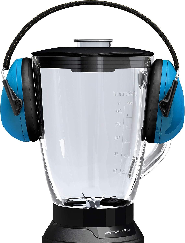 Bosch SilentMixx Pro - Licuadora (2,3 L, Continuo, Giratorio, Batidora de vaso, Negro, Acero inoxidable, CE): Amazon.es: Hogar