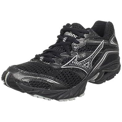ff8002487f91 Amazon.com | Mizuno Women's Wave Nexus 5 Running Shoe, Black/Silver ...