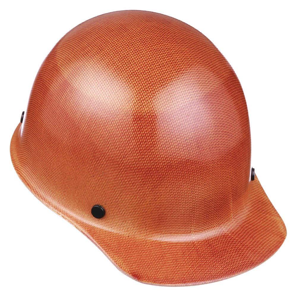 MSA 462638 Skullgard Protective Hard Hat Front Brim, Staz-on Suspension, Small Size, Natural Tan by MSA (Image #1)