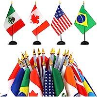 30PCS Drapeau Américain USA Hand Held Mini Stick Drapeaux Fête Jeux Olympiques Festival Bureau