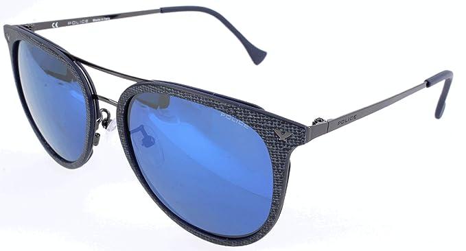 Police Sonnenbrille SPL153C Gafas de sol, Gris (Gr), 54.0 ...