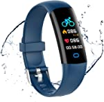 moreFit Fitness Tracker HR, Waterproof Activity Tracker Watch with Blood Pressure