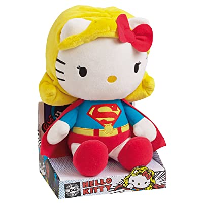 Jemini 22791 - Peluche Hello Kitty Super Woman 27 Cm - DC COMICS SUPER HEROS
