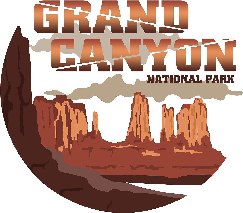 Vincit Veritas Grand Canyon National Park Decal Sticker Car RV Car Bumper US Travel Design S020