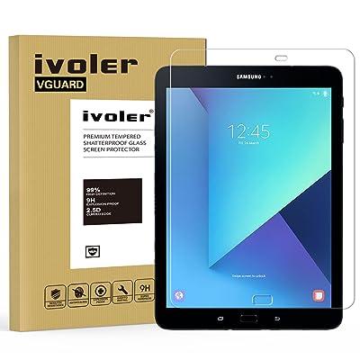 Samsung Galaxy Tab S3 9.7'' (SM-T820 / SM-T825) / S2 9.7'' (SM-T810 / SM-T815) Protector de Pantalla, VGUARD Protector de Pantalla de Vidrio Templado Cristal Protector para Samsung Galaxy Tab S3 9.7'' (SM-T820 / SM-T825) / S2