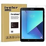 Verre Trempé Samsung Galaxy Tab S3 9.7 pouces / S2 9.7 pouces [Garantie à Vie], iVoler Film Protection en Verre trempé écran Protecteur - ANTI RAYURES - SANS BULLES D'AIR -Ultra Résistant Dureté 9H Glass Screen Protector pour Samsung Galaxy Tab S3 9.7'' (SM-T820 / SM-T825) / S2 9.7'' (SM-T810 / SM-T815)
