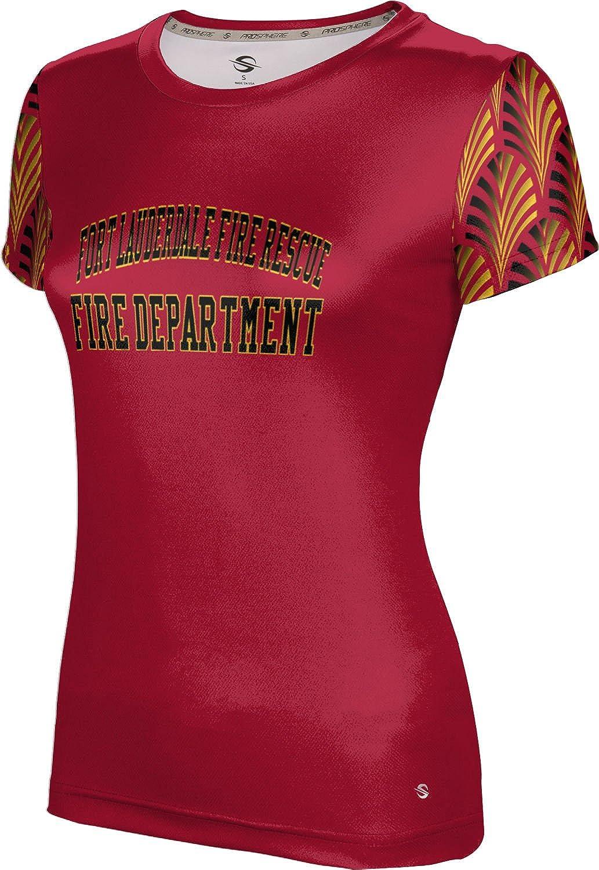 ProSphere Women's Fort Lauderdale Fire Rescue Gov-Fire-Police Deco Tech Tee