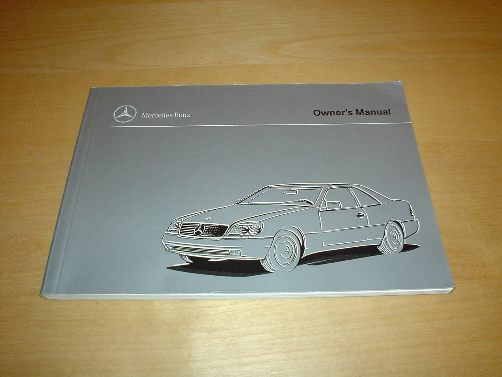 mercedes benz w140 s cl class coupe owners manual handbook 1992 rh amazon co uk Mercedes W220 Mercedes W140 AMG