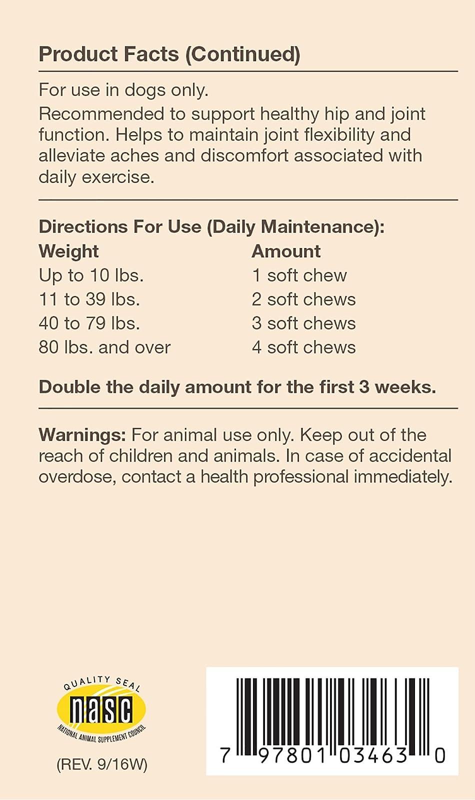 NaturVet Joint Health Level 2 Soft Chew - 2