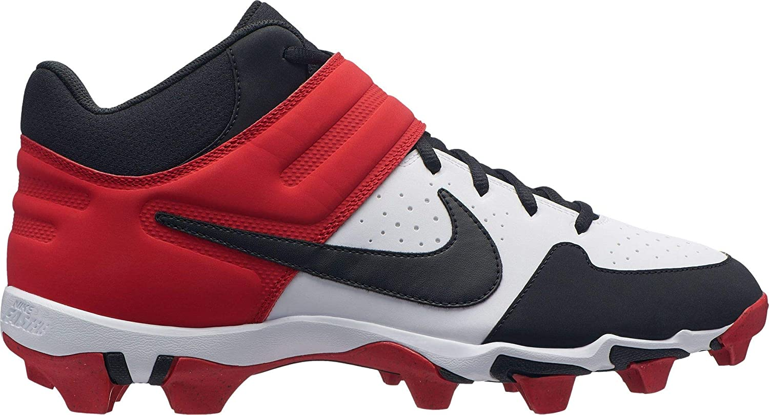 Amazon.com | Nike Mens Alpha Huarache Varsity Mid Baseball Cleats | Basketball