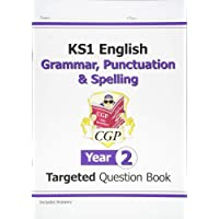 KS1 English Targeted Question Book: Grammar, Punctuation & Spelling - Year 2 (CGP KS1 English)