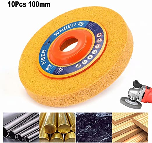 Nylon Fiber Wheel Abrasive Polishing Buffing Disc Pad Brush Rotary Tool AL