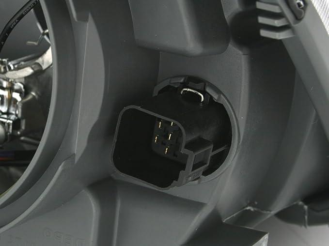 AD Tuning GmbH /& Co KG DEPO Scheinwerfer Rechte Seite Beifahrerseite H4 f/ür elektr LWR