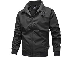 RongYue Men's Casual Lightweight Jacket Outdoor Windbreaker