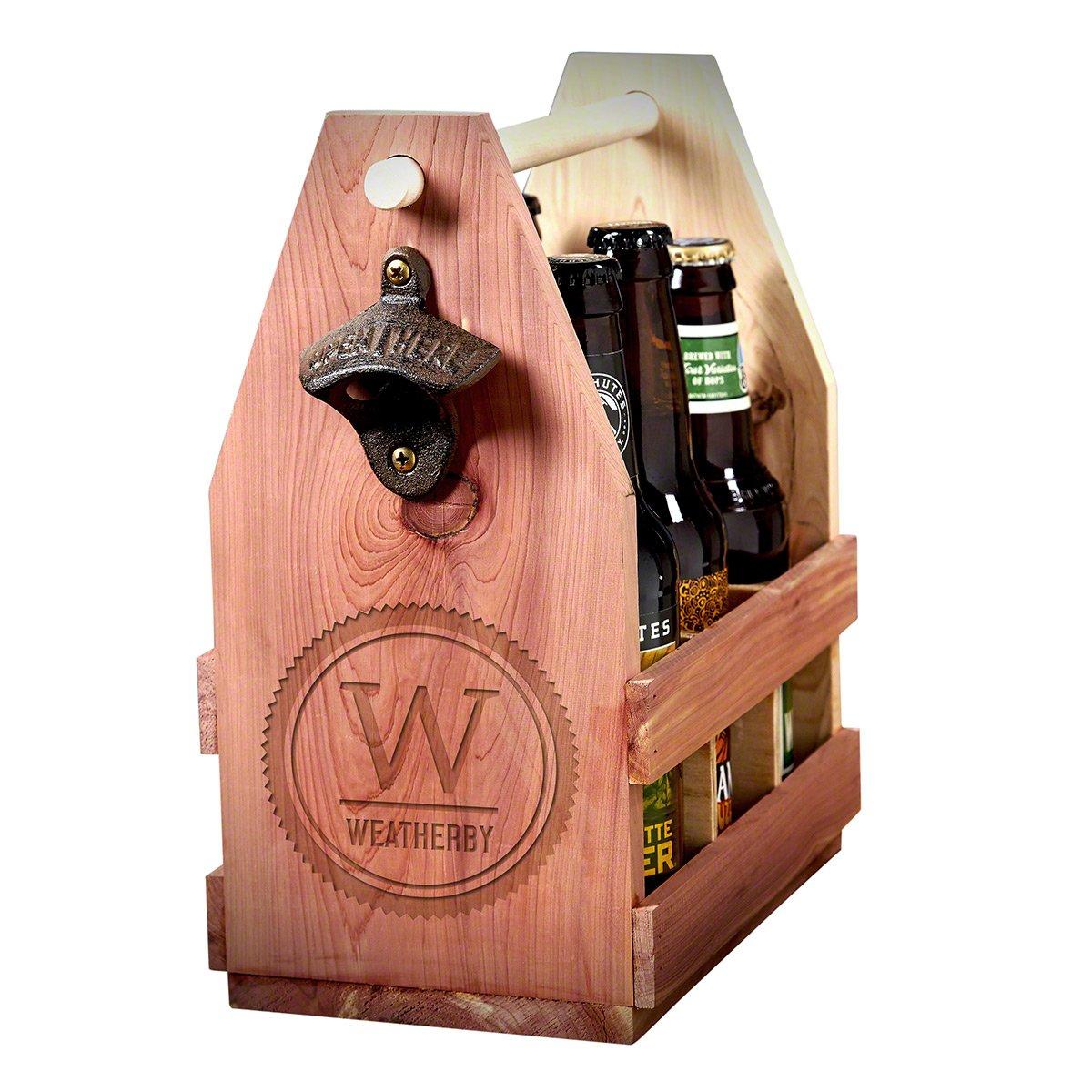 Thurston Custom Summit Wooden Beer Caddy (Customizable Product)