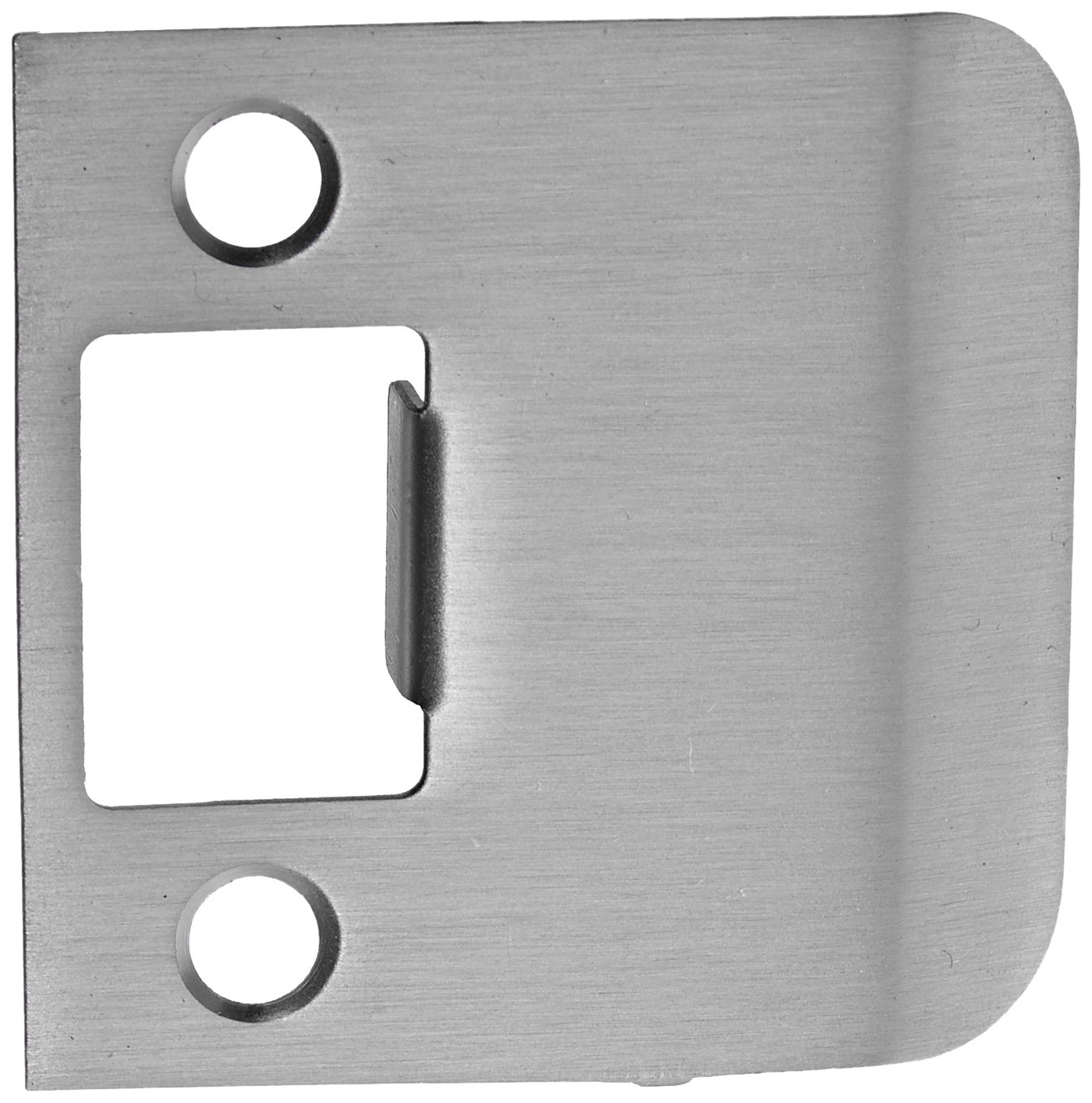 Don-Jo EL 175 18 Gauge Extended Lip Strike, Clear Coated Satin Nickel Plated, 1-3/4'' Width x 2-1/4'' Height (Pack of 10)
